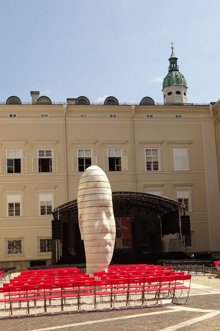 """Salzburg, Modern Art, """"Awilda"""" von Jaume Plensa"""