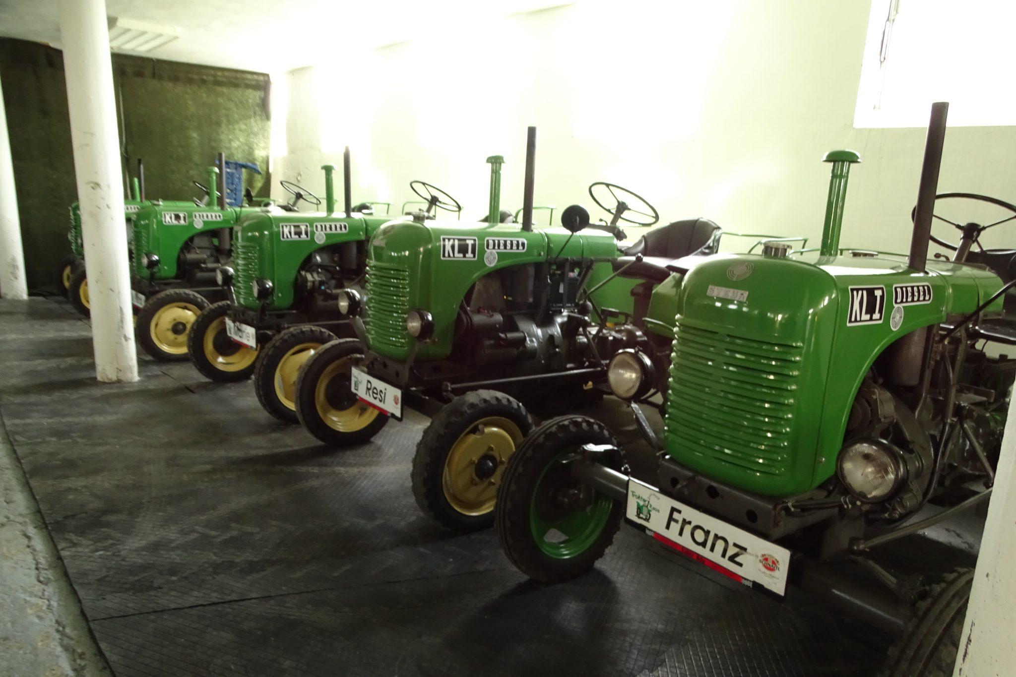 Traktorroas, Franking