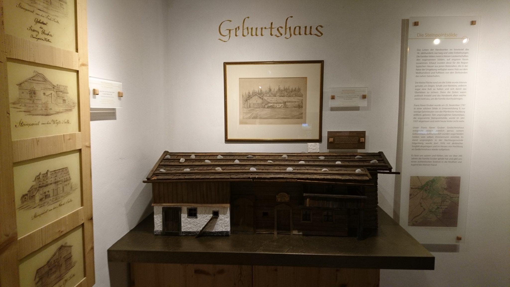 Hochburg-Ach, Franz-Xaver-Gruber-Gedächtnishaus